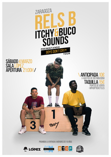 RELS B + Itchy&Buco Sounds @ ZARAGOZA