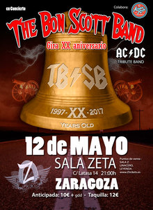 "THE BON SCOTT BAND  ""AC/DC Tribute Band"""