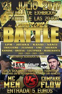CAMPEONES BATTLE ( COMPARE FLOW vs MCMEN )