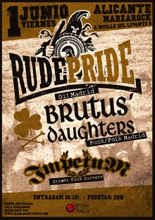 Rude Pride + Brutus Daughters + Impetum