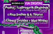 PEDRO LADROGA & SKYHOOK (SKYDRVG 2.0) [NEW VIA DIGITAL] + Rico Sánchez & A. Tourist + Cheese Druidaz + Afterparty @ EVEN (SVQ)