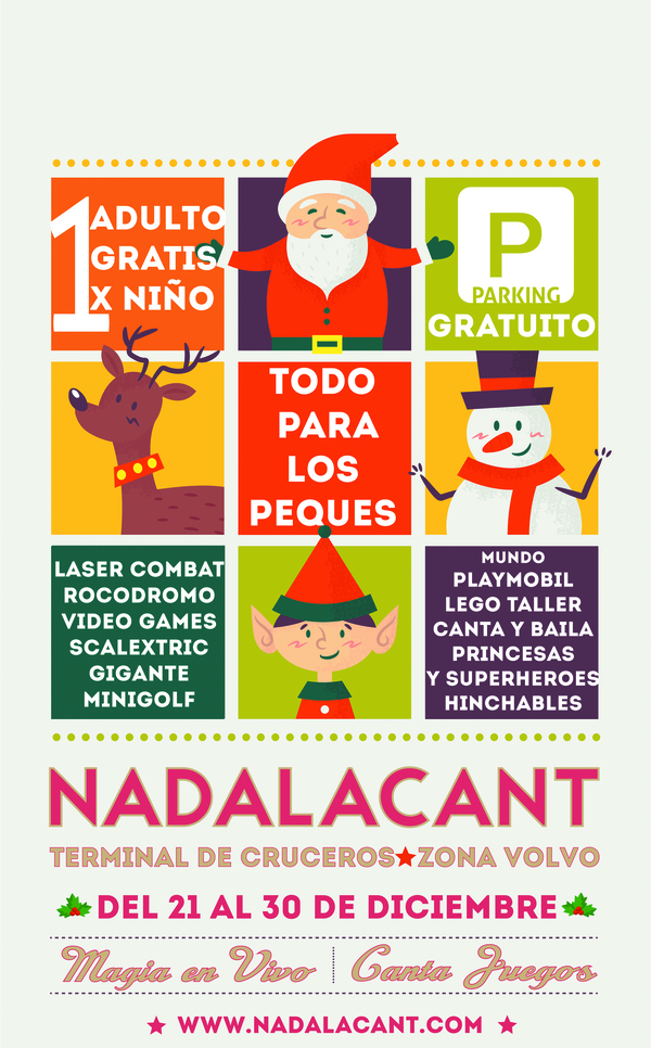 Entradas para NADALACANT / UN ADULTO GRATIS POR CADA NIÑO (2 ...