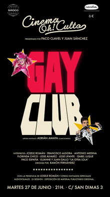 Cinema Oh!Culto Especial Orgullo. GAY CLUB