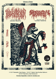 Blood Incantation + Spectral Voice - Barcelona 2017