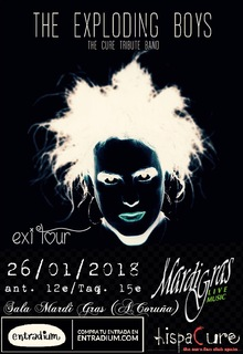 THE EXPLODING BOYS (The Cure Tribute Band since 2006) en SALA MARDI GRAS (A CORUÑA)