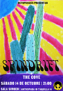 Octopussies presentan: SPINDRIFT (Los Angeles) + THE COVE en Madrid