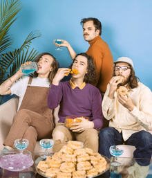 Peach Pit + Bounties en Barcelona