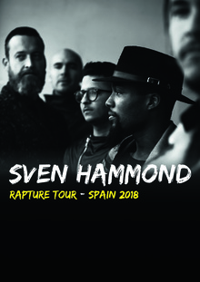 Sven Hammond Live in MADRID