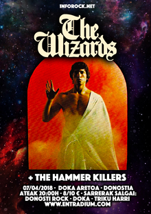 The Wizards + The Hammer Killers @ Doka, Donostia 07/04/2018
