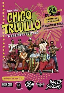 Â¡Chico Trujillo por primera vez en Mallorca!