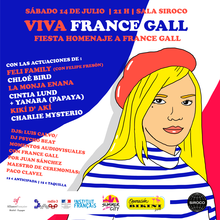 "SUMMER IN THE CITY presenta: ""Viva France Gall. Fiesta Homenaje a France Gall"""