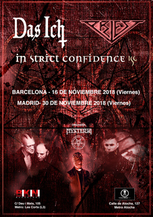 DAS ICH, IN STRICT CONFIDENCE, PRIEST - Madrid 2018