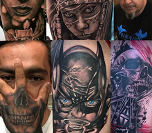 Cool tattoo session   7 octubre vert