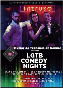 Humor de Transmisión Sexual presenta LGTB Comedy Nights