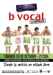 """b vocal"" al natural, sin instrumentos añadidos"